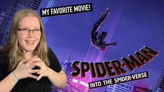 Reacting to my FAVORITE movie! | Spiderman: Into the Spiderverse REACTION