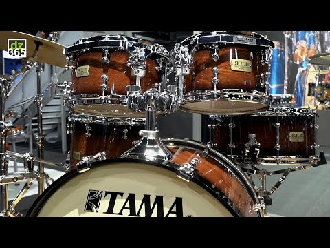 Tama S.L.P. Dynamic Kapur Drum Kit - with drum solo