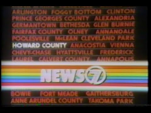 WJLA-TV 7 Washington, D.C. News 7 + Commercials August 14,1980