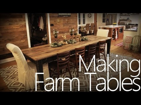 Farmhouse Patio Table