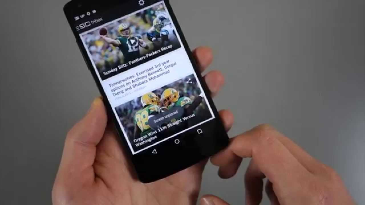 Android 5 0 Feature: Screen Pinning