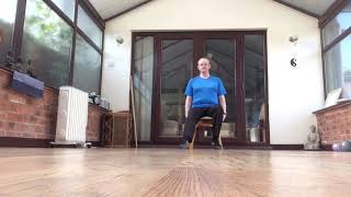 5 MINUTES CHAIR BASED EXERCISE