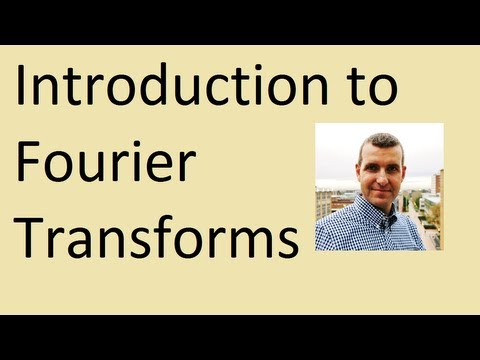 Intro to Fourier transforms: how to calculate them