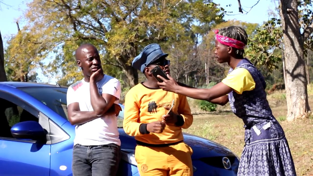 Smallz, S'lwane & Gogo - Gogo's Car Drama. Again