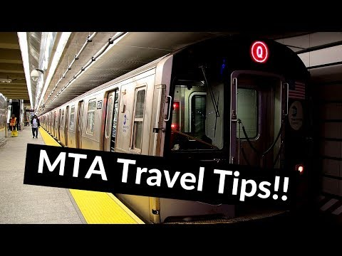 How To Use NYC Subway & Long Island Rail Road (LIRR) Plus Must Have Apps To Download!!