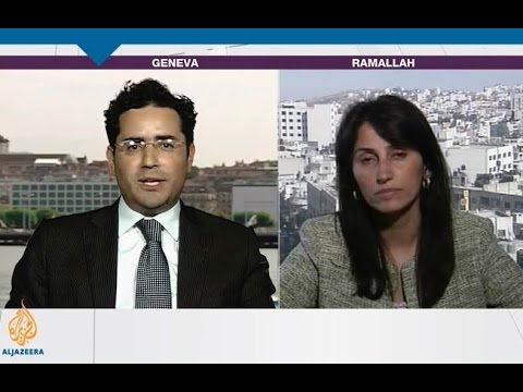 PLO's Diana Buttu goes SPEECHLESS in Al Jazeera debate with Hillel Neuer