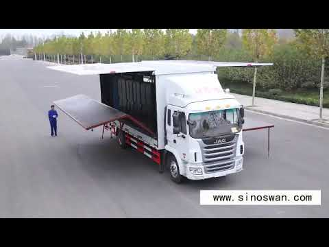 Mobile Stage Truck Video With Led Screen Youtube