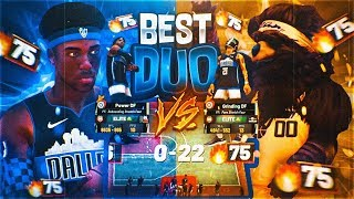 DF PULLS UP ON PUSHERS HUGE 75 GAME WIN STREAK! ELITE PUSHERS VS POWER + GRINDING DF! NBA 2K19 PARK