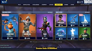 🔴 *NEW* CARTWHEELIN Emote - BUSY EMOTE, CHOMP SR. & TARO SKINS are BACK - May 25 Fortnite Item Shop