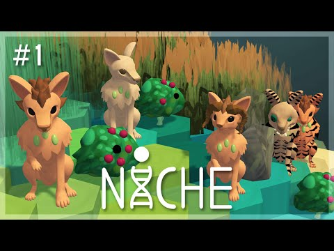 Our First Family! | Niche: A Genetics Survival Game (Early Build Overview) - Episode 1