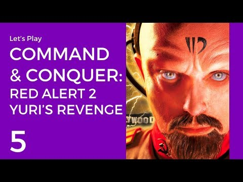 Let's Play Command & Conquer: Red Alert 2 - Yuri's Revenge #5 | Allies Mission 5: Clones Down Under