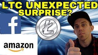 What Will Litecoin's HUGE Surprise Annoucement be? - Amazon? Facebook? Litecoin LTC News