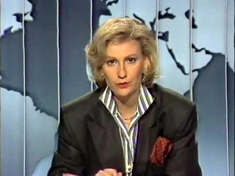 Sabine Christiansen Tagesschau & Tagesthemen ARD 13.5.1987