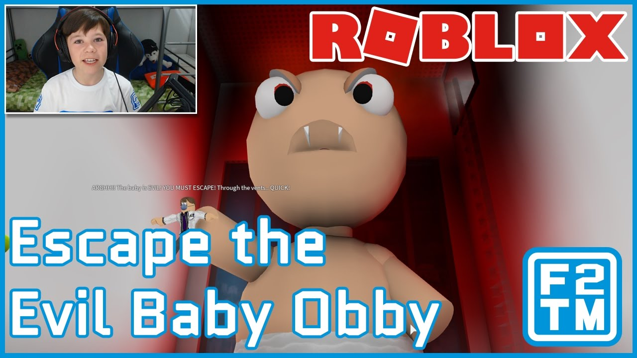 Escape The Evil Baby Roblox Obby Youtube Roblox Escape The Evil Baby Obby By The Pals Youtube