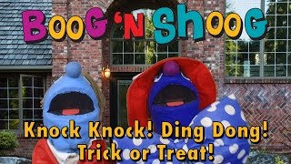 Knock Knock Ding Dong Halloween song for kids by Boog