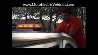 Golf Cart Accessories | Led Light Bar From Moto Electric Vehicles