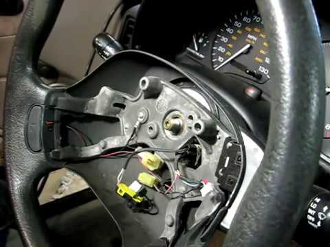 1998 mitsubishi mirage radio wiring diagram steering wheel removal youtube  steering wheel removal youtube