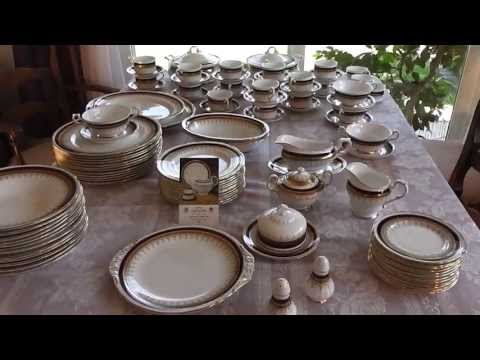 Auctioned 90+ Piece Paragon Stirling Fine English Bone China