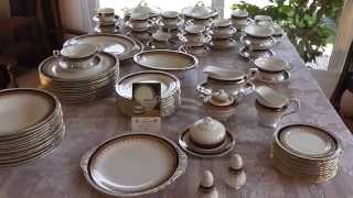 90+ piece Paragon Stirling Fine English Bone China