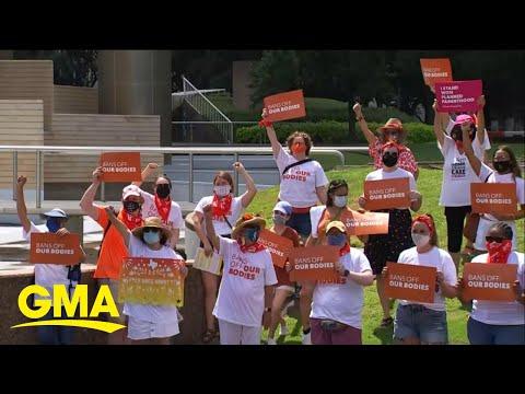 Judge blocks enforcement of Texas abortion law l GMA