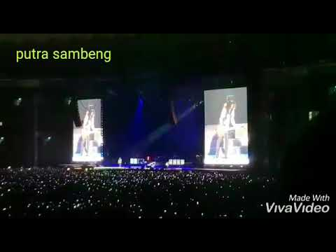 Konser guns n roses di (gbk) senayan welcome to the junggle Mp3