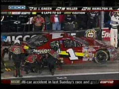 Kyle Busch Lowes Motor Speedway Nascar Nation Wide Series