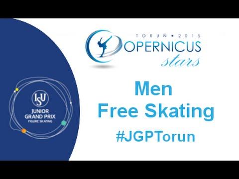 2015 ISU Jr. Grand Prix - Torun Men Free Skate