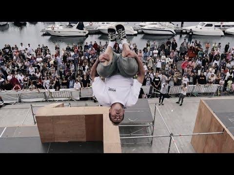 WORLD CLASS PARKOUR - Vigo Street Stunts 2017