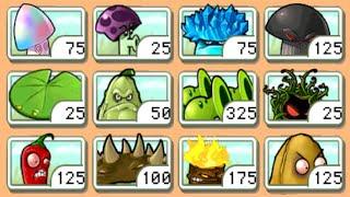 Best strategy Plants vs Zombies - All Plants Pea vs All Column Like you see em PVZ mod