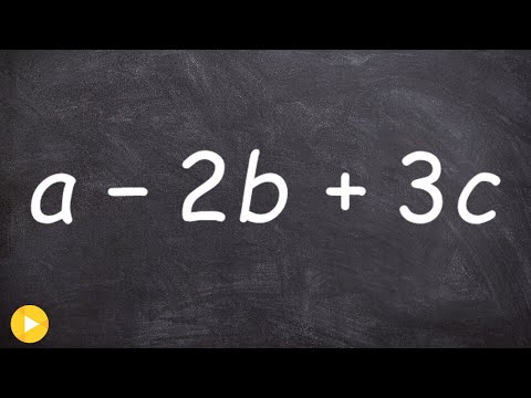 Evaluating an expression with three variables - Online Tutor - Free Math Videos