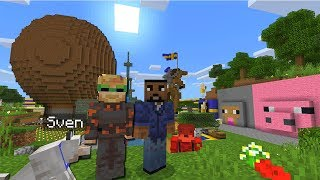 Minecraft Xbox - PewDiePie's Survival Base   Bro Land - Hide and Seek