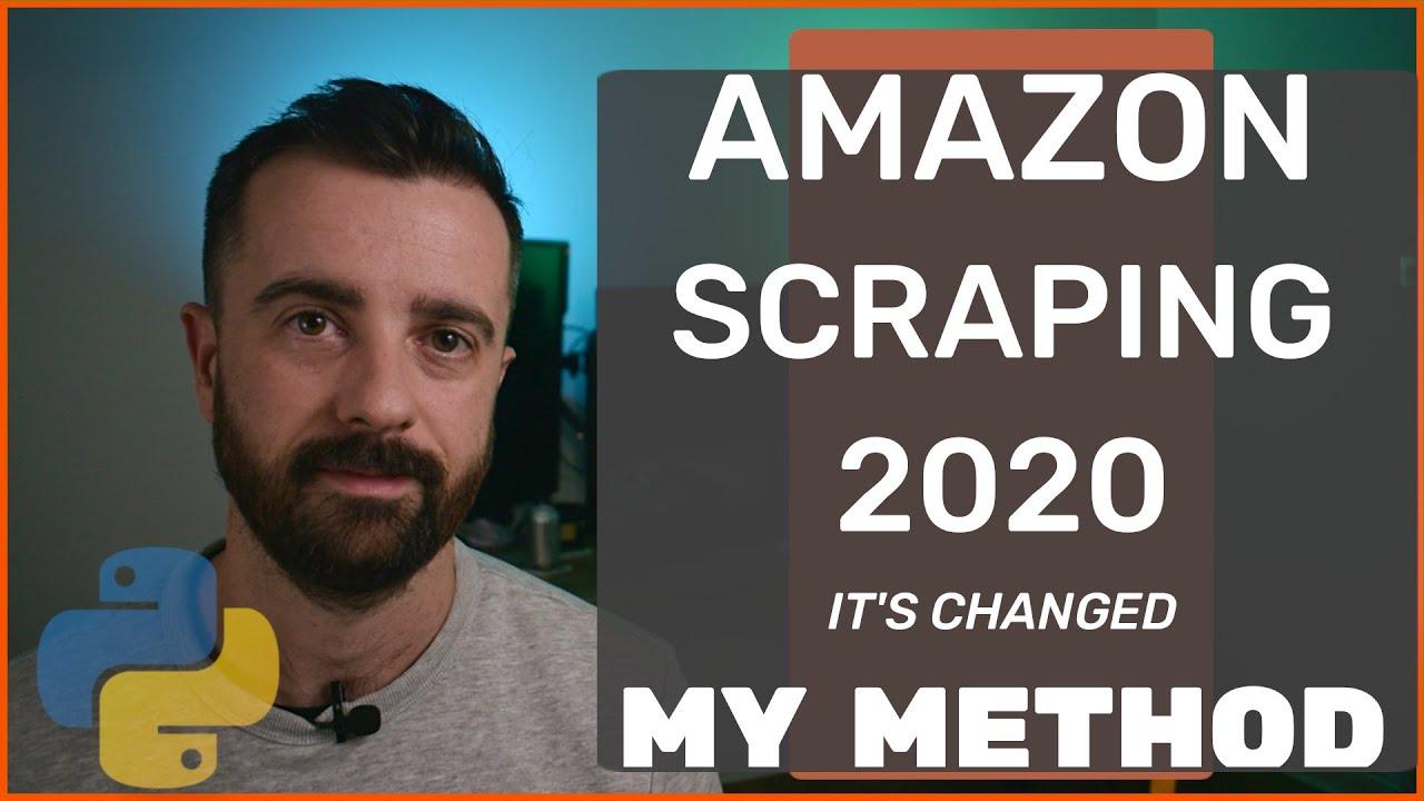 Scrape Amazon NEW METHOD with Python 2020