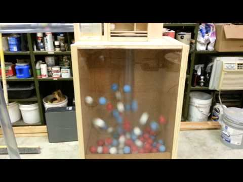 Homemade Lottery Ball Machine