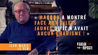 Le Pen : « Macron a montré face aux Gilets Jaunes qu'il n'avait pas de carrure »