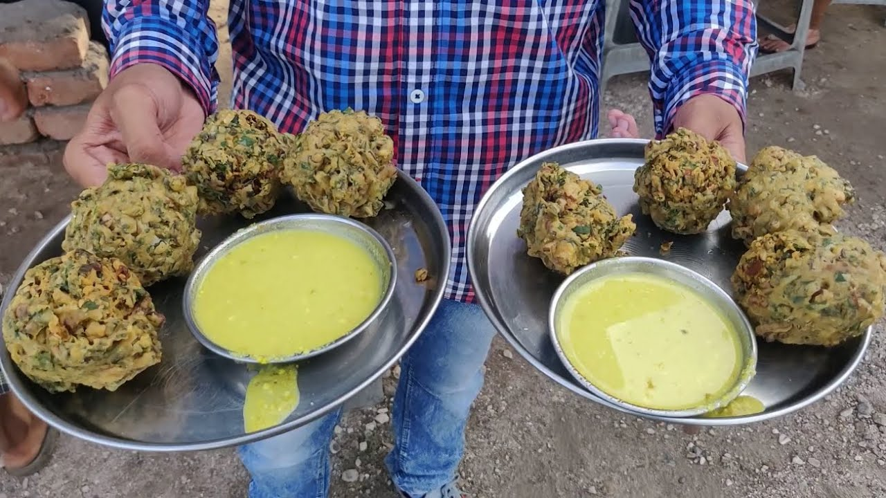 India's Biggest Pakora - Special Crispy Ball Bhajiya | Indian street food after Lock down