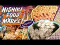 TRADITIONAL FOOD MARKET & All You Can Eat Buffet in Kyoto Japan