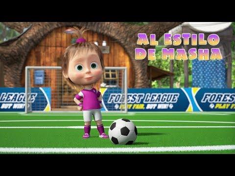 Masha y el Oso - ⚽ Doble como Masha🥇Edición de fútbol