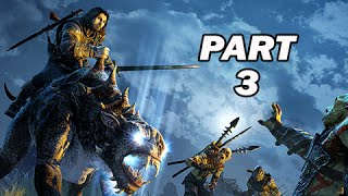 Middle Earth Shadow of Mordor Walkthrough Part 3 - Caragor Mount (PC 1080p Gameplay)