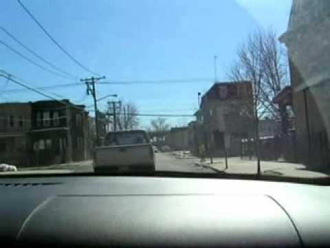 Driving the streets of Camden, New Jersey