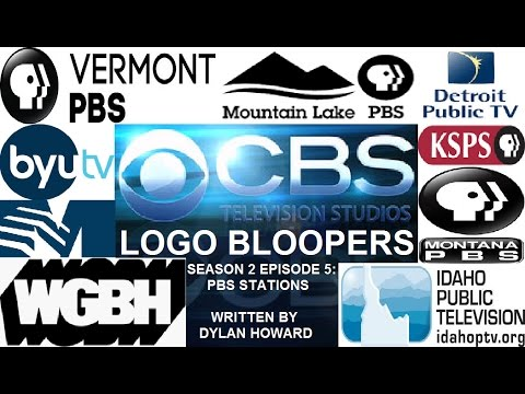 CBS Television Studios Logo Bloopers Season 2 Episode 5: PBS Stations (REUPLOAD!)