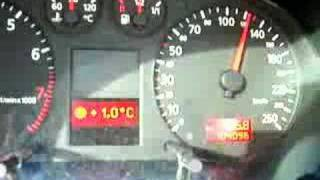 audi a3 8l 1 8t 0 100 drag launch