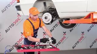 Kuinka vaihtaa takajarrusatula MERCEDES BENZ 190 W201 -merkkiseen autoon [OHJEVIDEO]