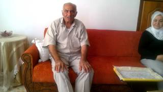 FAYSAL SEZER BEG DEN EL EMİR HACCI ABDULLAH BEG ANISI AĞUSTOS 2014  (1)