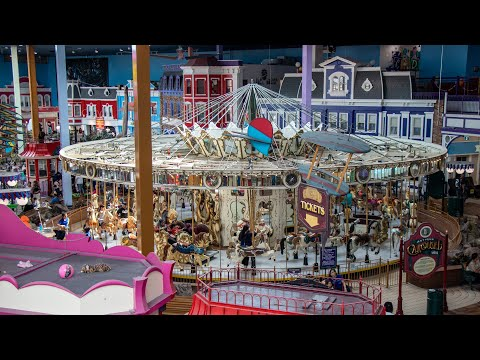 The Fantasy Fair is Toronto's largest indoor amusement park