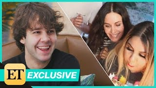 How David Dobrik Pulled Off That Courteney Cox Birthday Surprise! Video