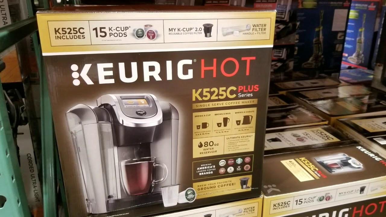 Costco Keurig K525c Plus Coffee Maker 124 Youtube