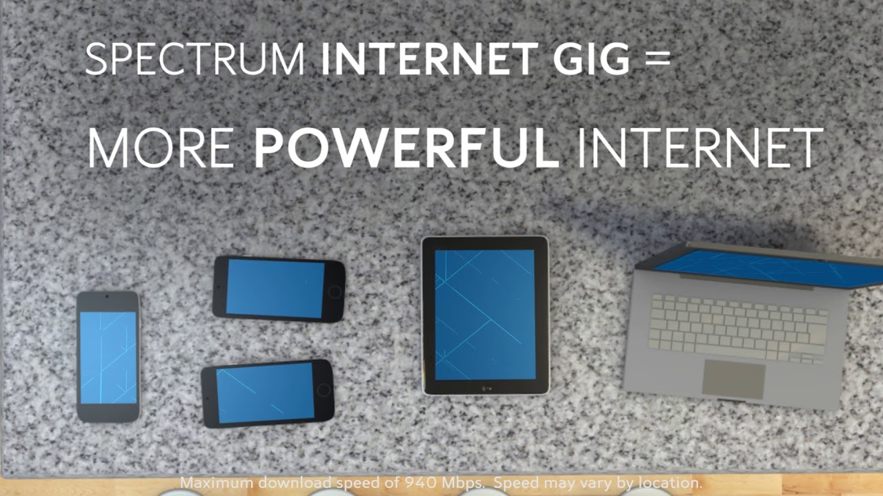 Spectrum Internet Gig Rollout Continues ...