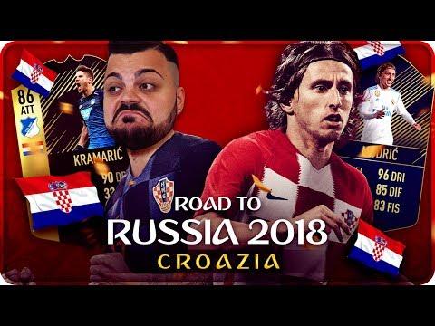ROAD TO RUSSIA MONDIALI 2018 : CROAZIA !!! [FIFA 18] #8