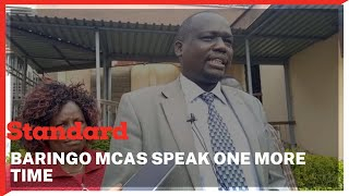 Section of Baringo MCAs regret rejecting  BBI Bill saying some of them were misled to vote against