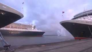 QM2 10th Anniversary | Happy Birthday with Ship Horns | Planet Cruise